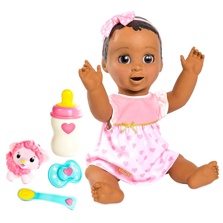 dark skin luvabella toy
