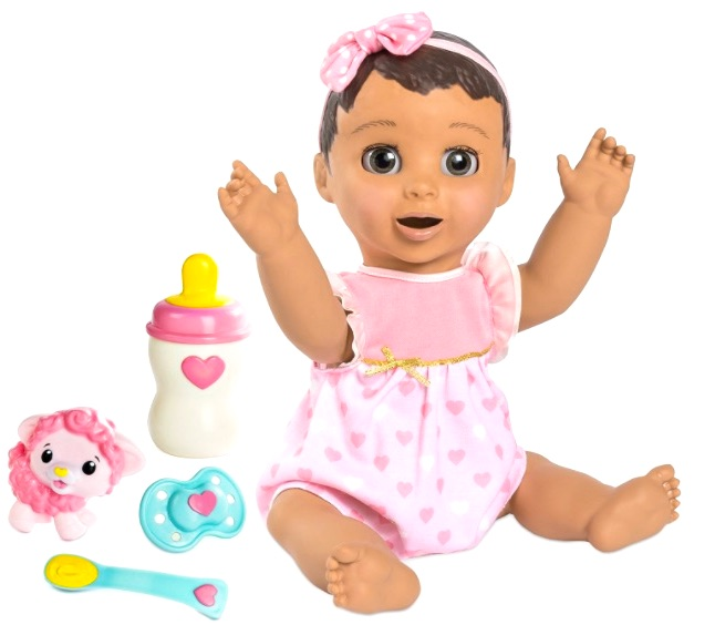 luvabella baby brunette doll