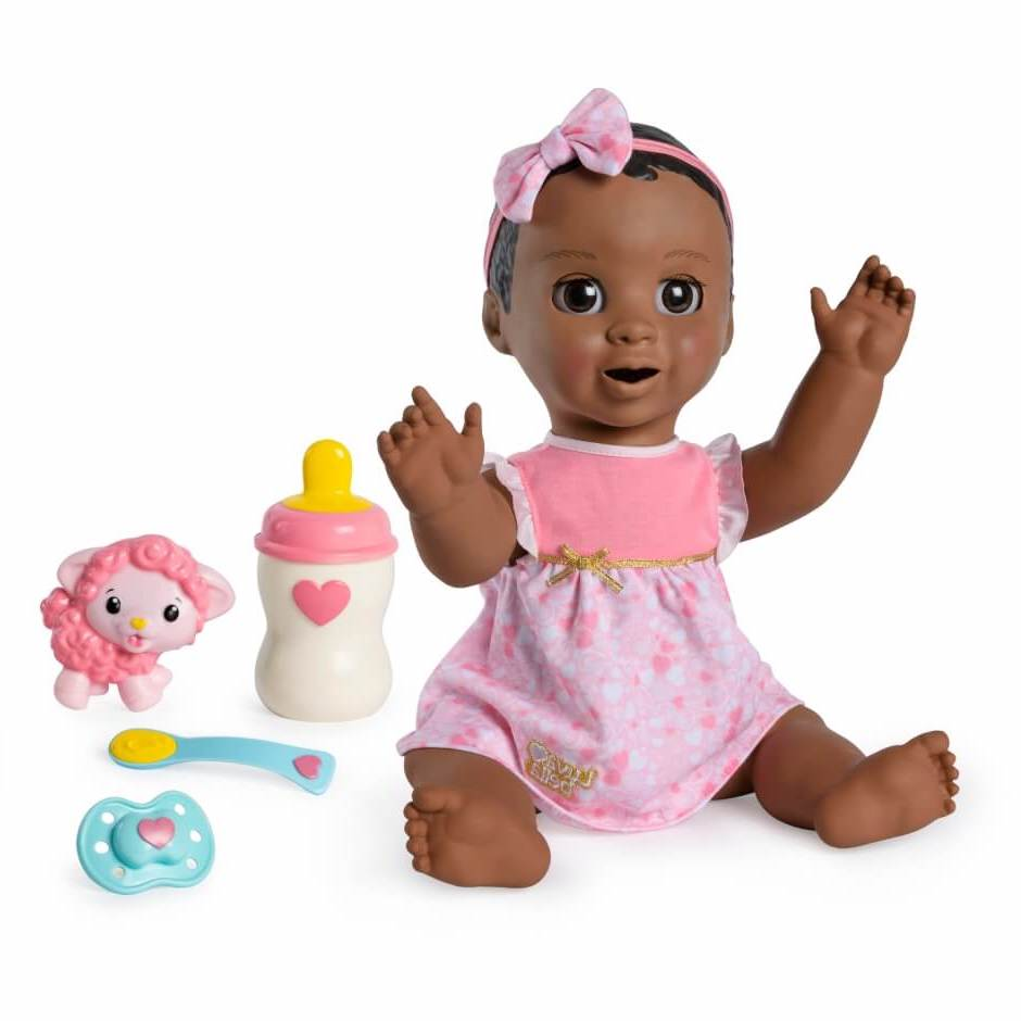 black luvabella doll dark brown hair