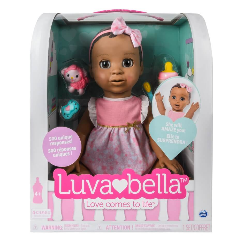 luvabella doll black box