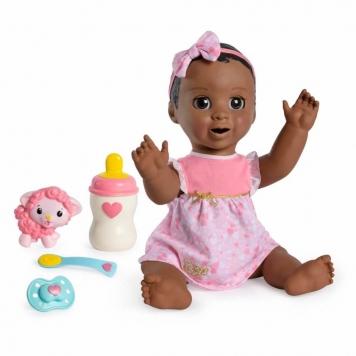 black luvabella doll dark brown hair